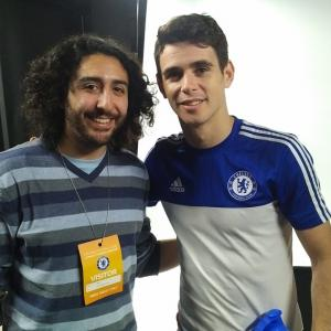 Marc Joss, Portuguese-English football interpreter with Chelsea's Oscar