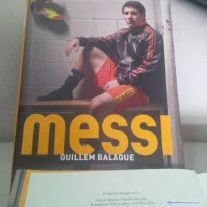 Marc Joss football translator featured in Guillem Balagué's Messi book