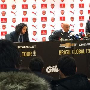 Marc Joss consecutive football interpreter at Emirates Stadium