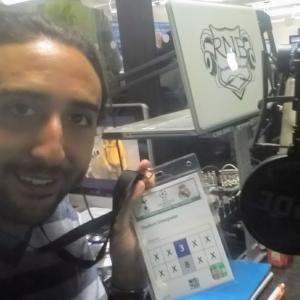 Marc Joss footabll interpreter at Wembley