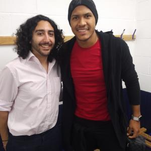 Marc Joss, Spanish-English football interpreter with West Bromwich Albion's Salomón Rondón