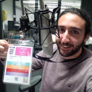 Marc Joss, English French translator at Wembley