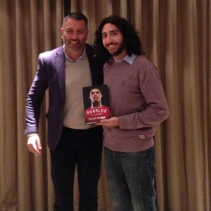 Marc Joss, Spanish-English football translator with Guillem Balagué and his biography on Cristiano Ronaldo