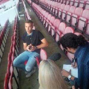Marc Joss football interpreter